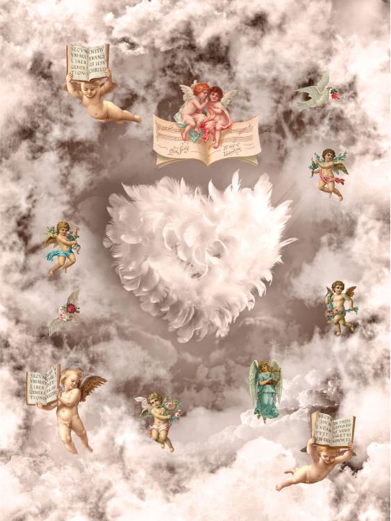 Ангелы в облаках