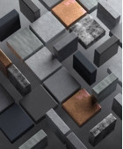Кубики черно-оранжевые