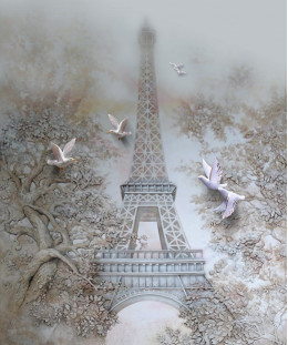Париж и голуби