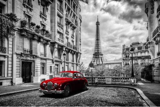 Авто в Париже