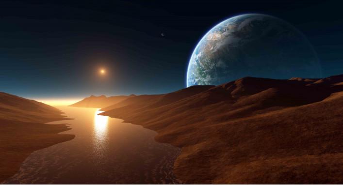 Космос и вода