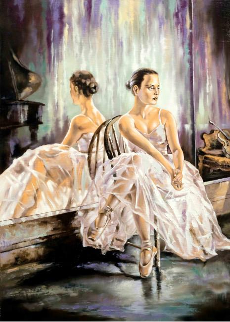 Балерина и зеркало