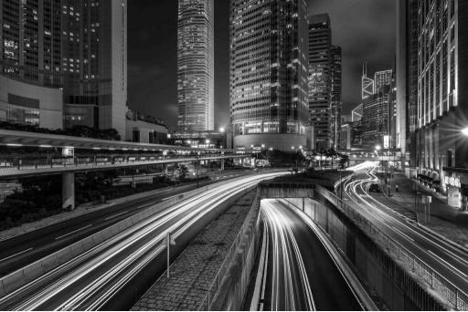 Магистрали ночного города