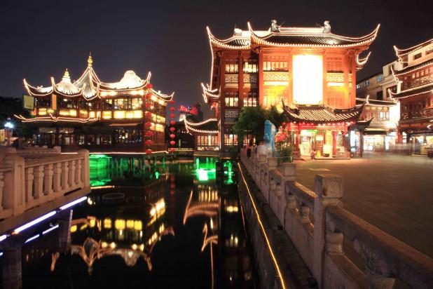 Дворец в Китае