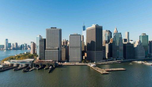 Нью-Йорк и океан