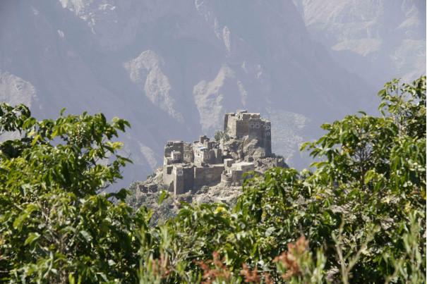 Замок в горах