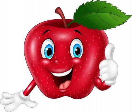 Весёлое яблоко