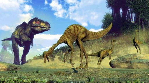 Бегающие динозавры