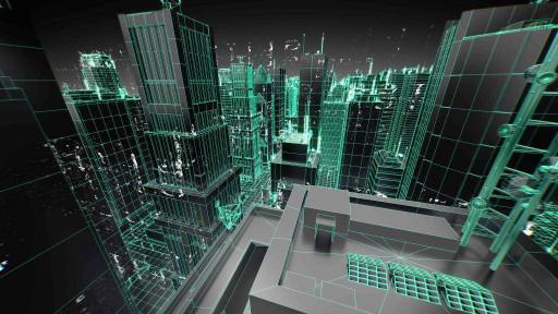 Город в матрице