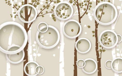Круги и лес