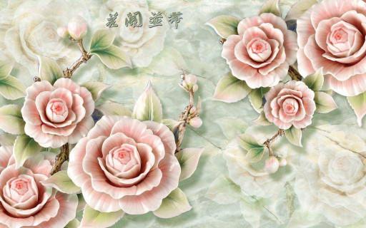 Ветви китайской розы