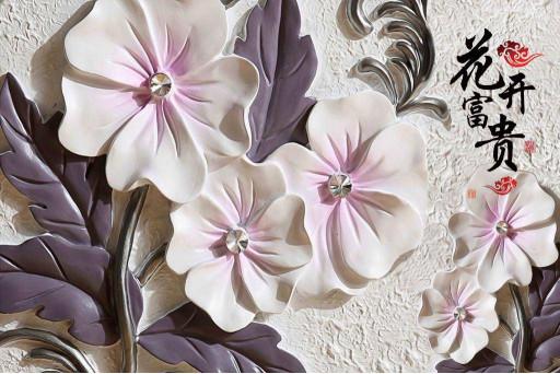Китайские фарфоровые цветы