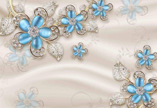 Голубые фиалки