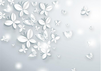 Белые бабочки