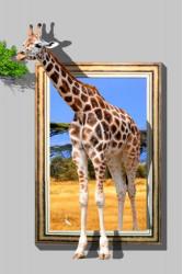 Высокий жираф
