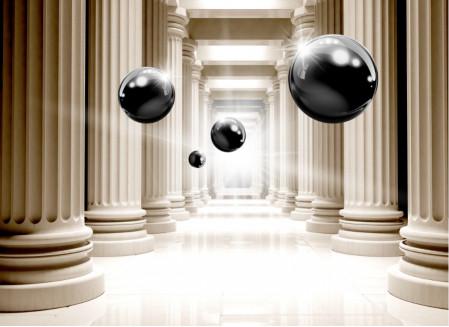 Колонны и шары