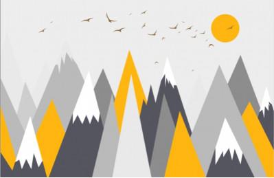 Горы и птицы
